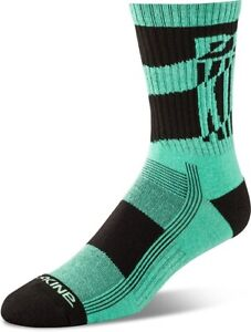 New-2019-Dakine-Mens-Step-Up-Bike-Socks-M-L-Electric-Mint
