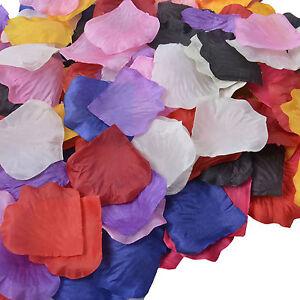 1000 pcs various color wedding party silk flower petals table 1000 pcs various color wedding party silk flower mightylinksfo