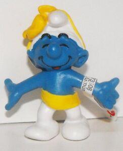 Anniversary-Party-Smurf-2-inch-Figurine-Plastic-Figure-20701-Schleich-2007