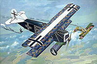 FOKKER D.VII OAW (MID) GERMAN AIRCRAFT WWI 1/48 RODEN 418