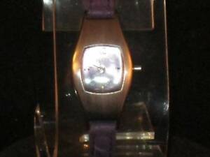 23c2df23bf7a VTG WOMENS SWERVE WRISTWATCH W PURPLE FACE   MATCHING PURPLE BAND ...
