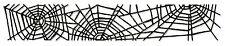 Sizzlits Decorative Strip Cobwebs die #658713 Retail $19.99 Tim Holtz! FUN!!!