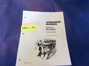 Diesel Perkins 4 135 4 154 4 182 Engine Service Repair Workshop Manual Ebay