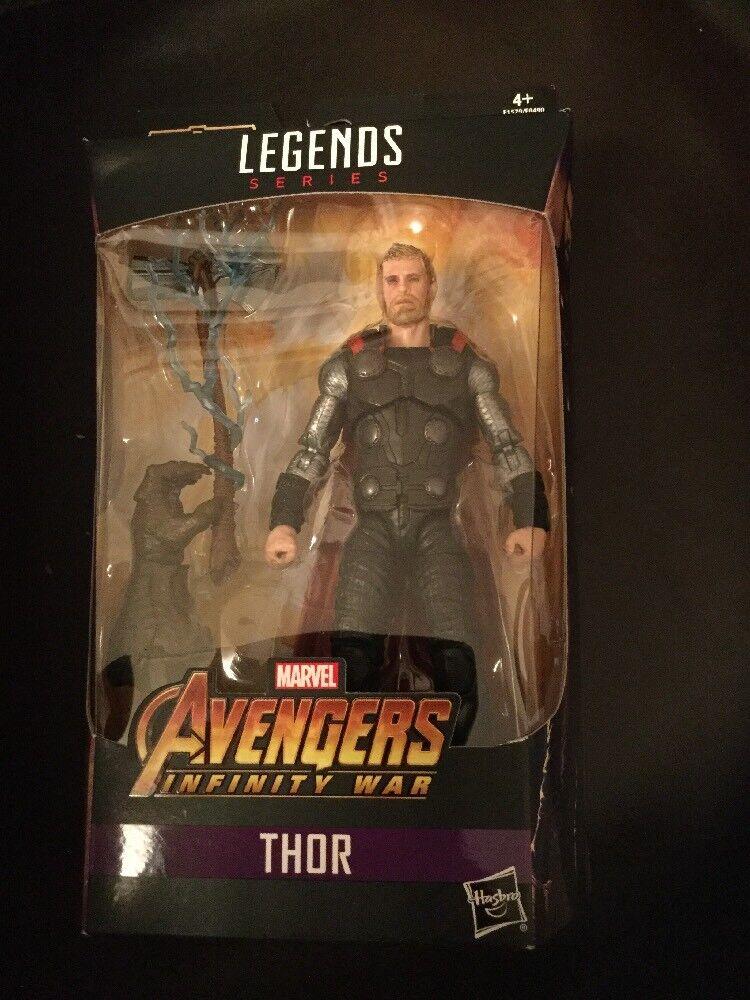 2018 Thor Marvel Legends Avengers Cull Obsidian Build A Figure BAF Boxed New