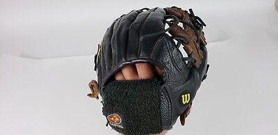 "Wilson A1504 St2 Baseball Glove 11.5"" Canyon Leather Sporting Goods Baseball & Softball"