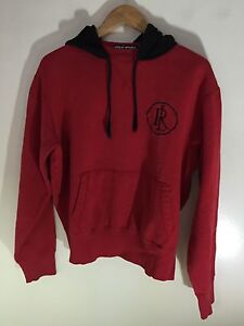 Black Red Polo Hoodie