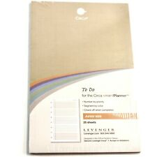 Levenger Circa Smart Planner Refill Sheets To Do Junior Size 25 Sheets