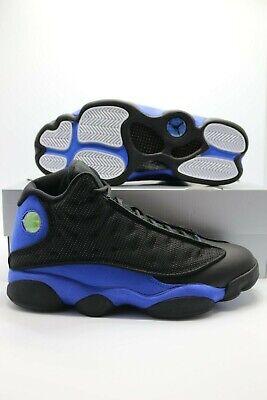 Details about Nike Air Jordan 13 Retro Black Hyper Royal Blue 414571-040 Men's and GS Sizes