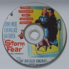 FILM NOIR 235: STORM FEAR (1955) Cornel Wilde, Jean Wallace, Dan Duryea