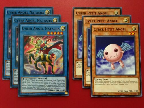 Yugioh Authentic Alexis Rhodes 41 Card Deck Anime Complete Cyber Angel Blader NM