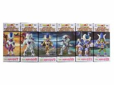 banpresto set dragonball super wcf mecha gold freezer king cold soldier cooler