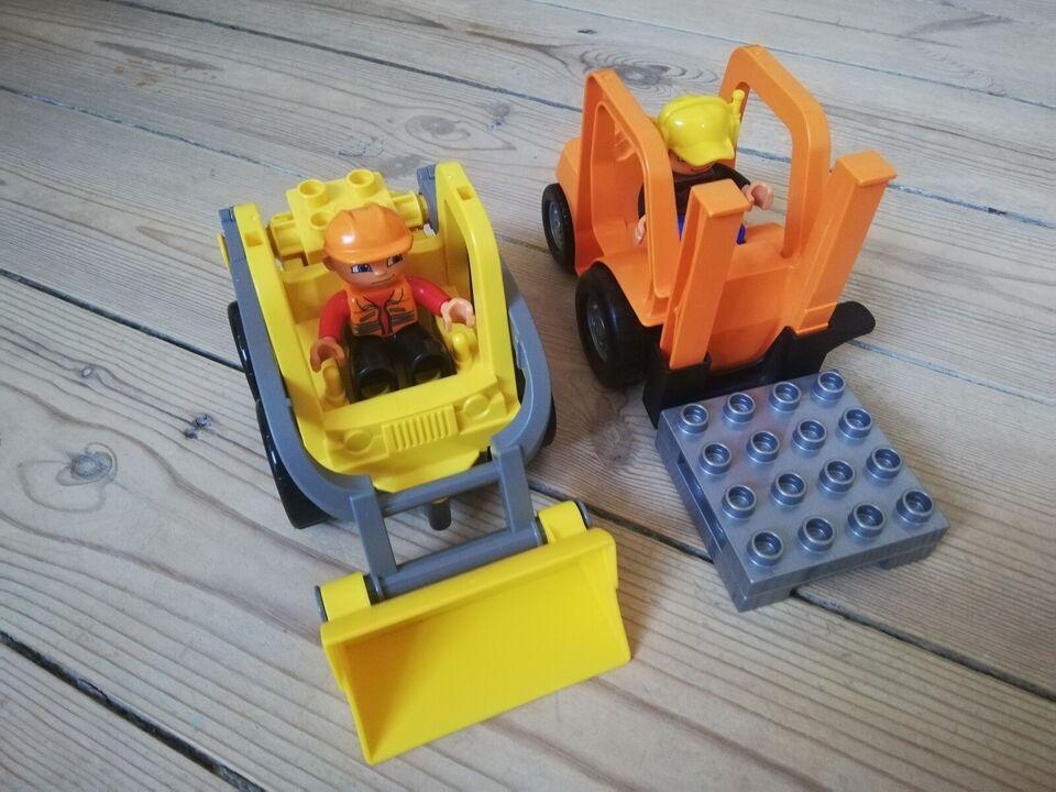 Lego Duplo, Gaffeltruck og gravko