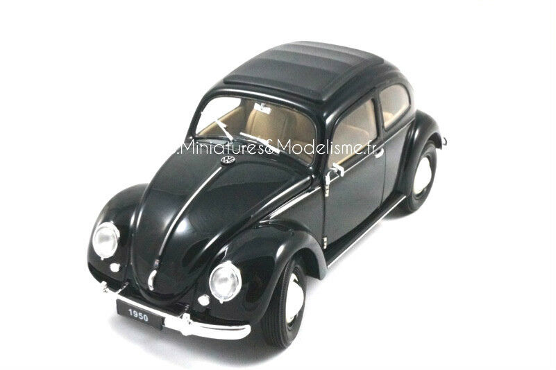 VW VOLKSWAGEN COCCINELLE 1950  WELLY 1 18