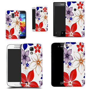 Motif-case-cover-for-All-popular-Mobile-Phones-red-poinsettia