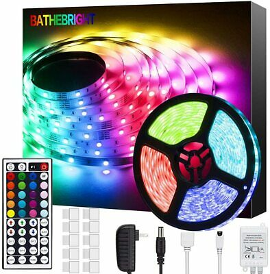 Luces LED de Decoracion Para Cuarto Casa TV RGB Tiras Luz LED gift for christmas