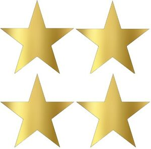 gold star stickers metallic gold foil star labels 45mm stars packet rh ebay com au Outdoor Gold Star Stickers Michaels Gold Star Stickers On a Roll