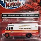 Fire Dept 1990s GMC Step Van Delivery Johnny Lightning Die-cast 1 87 HO