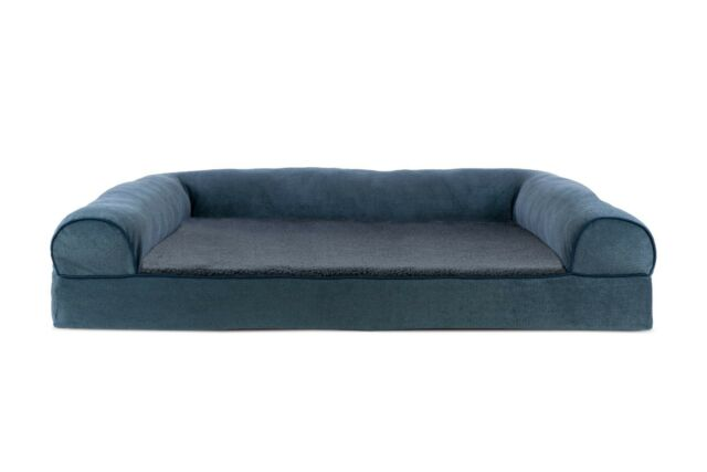 Phenomenal Jumbo Big Dog Bed Sofa K9 Pet Warm Couch Memory Foam Orthopedic Cushion Blue Ibusinesslaw Wood Chair Design Ideas Ibusinesslaworg