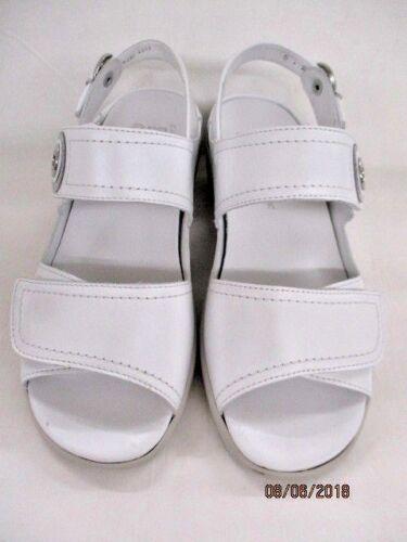 S  1237570-05 Perlacalf weiß Ara Damen Sandalen  Como silber   Weite K