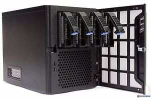 Details about Chenbro Mini-ITX Home/Small Business NAS Server Chassis Case  SR30169 w/250W PSU