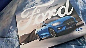 Sales Brochure Mk4 08//18-88pgs Ford Focus