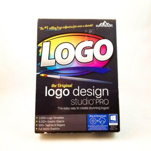 Logo Design Studio Pro by Summitsoft Brand New /& Sealed