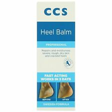 CCS Swedish Foot Heel Balm For Rough Dry And Cracked Heels 75g -3 Pack