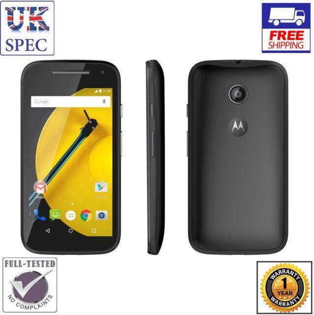 Motorola Moto E XT1524 (2nd Gen) - 8GB - Black (Unlocked) Smartphone