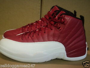 cheap for discount 478cf f7318 Image is loading NIKE-AIR-JORDAN-XII-12-RETRO-GYM-RED-