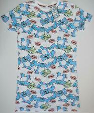 Little Mermaid Primark T Shirt Disney Front And Back Womens Ladies sizes 4 to 8