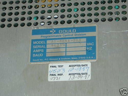 GOULD MODICON AS-884A-201 MODULE AS884A201