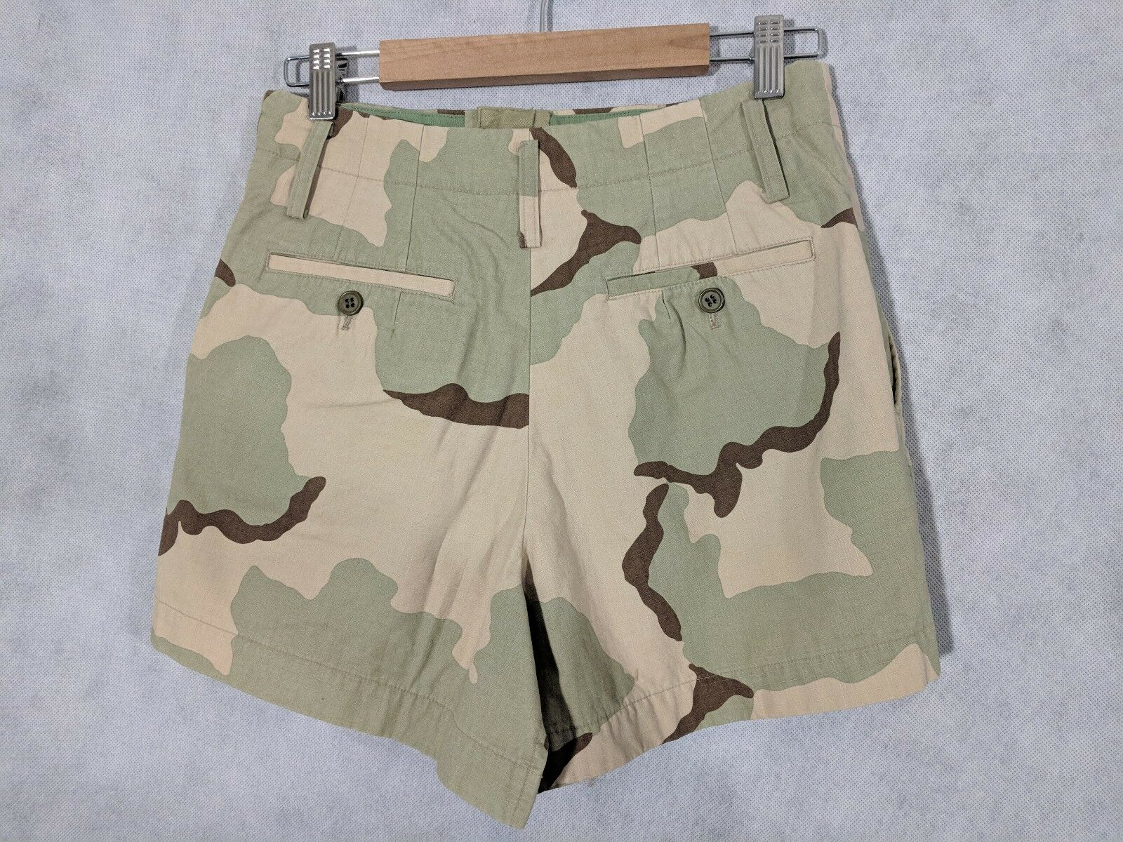 Junya Watanabe AD 2005 Size Camo Deconstructed Skirt Shorts Size SS