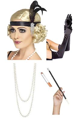 Womens Flapper 2 Piece Fancy Dress Hen Night Peaky Blinders Ada Shelby 20/'s Set