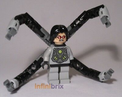 Lego Dr Octopus from Set 6873 Spider-Mans Doc Ock Ambush Super Hereos NEW sh040