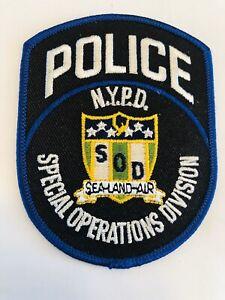 Division-de-Operaciones-Especiales-NYPD-Sod-Mar-Parche-de-aire-de-tierra-rara-ultimo