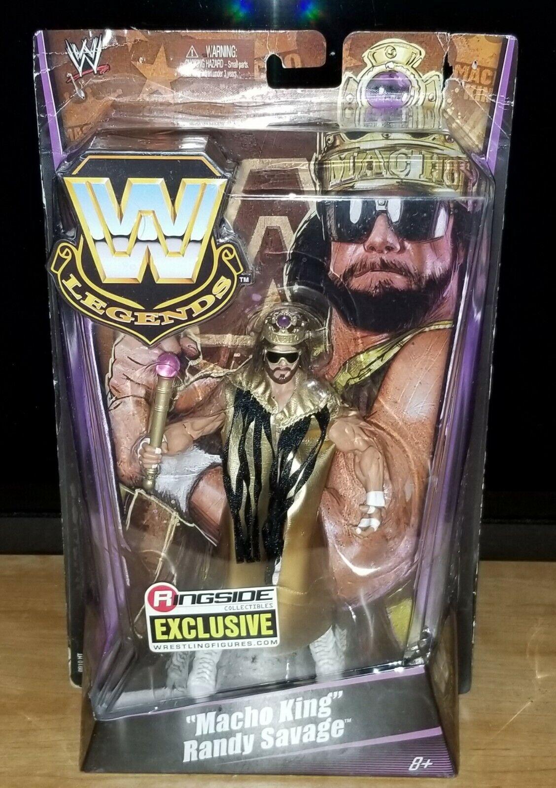 WWEマテルエリートレジェンドリングサイド排他的なマッチョマン