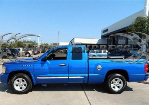 "fits 05-2011 Dodge Dakota Extended//Club Cab Flat Body Side Molding Trim 1.5/"" 4Pc"