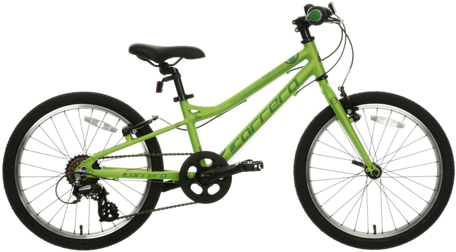 Carrera Abyss Junior Boys Kids Hybrid Bike 20  Wheels Alloy Frame Age 7-9