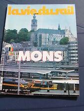 vie du rail 1981 1804 MONS CUESMES FRAMERIES SAINT FLORENTIN SARTHONAY HUY MEUSE