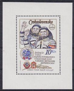 Tschechoslowakei-Block-39-II-A-Kosmonauten-Space-postfrisch-MNH