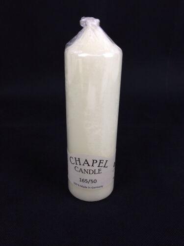 Chapel//Church Candle,Taper,Ivory,Pillar,Wedding,Church,Decoration,Long Burn Time