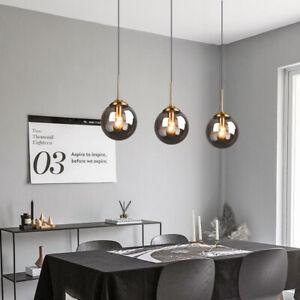 Details about Modern Ceiling Lights Glass Pendant Light Kitchen Chandelier Lighting Home Lamp