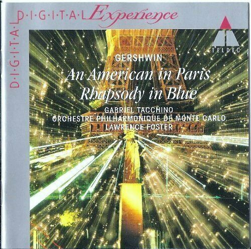 George Gershwin An American in Paris/Rhapsody in blue.. (Teldec, 1983/94).. [CD]
