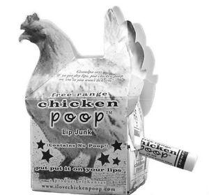 Image Is Loading New Free Range Chicken Poop Lip Junk Natural