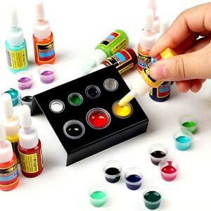 Details about Skin Candy Tattoo Ink Set 54 Pack Primary Color Pigment  Professional Supply Kit