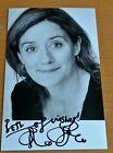 Sophie Thompson Signed Official Photo Card Autograph Harry Potter Film COA