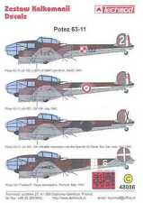 Techmod Decals 1/48 POTEZ 63-11 French Spanish & Polish Versions with Masks