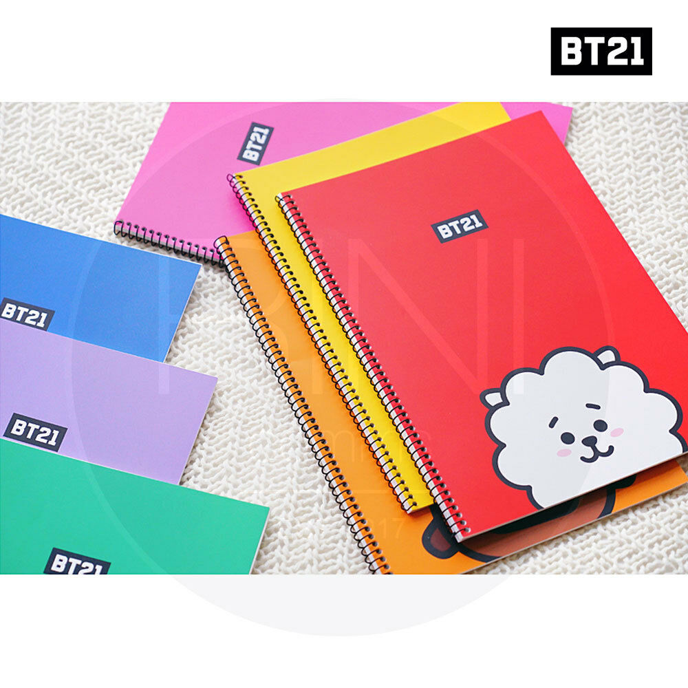 BTS BT21 Official Authentic Goods Spring Note 7Characters SET SET SET By Kumhong afdce0
