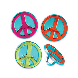 New-Peace-Sign-Cupcake-Rings-One-Dozen