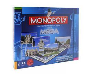 Monopoly-Mega-Edition-Gesellschaftsspiel-Spiel-Brettspiel-franzoesisch-NEU